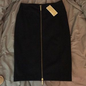 Michael Kors pencil skirt (navy blue)